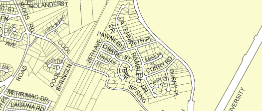 CSTCA Map Image